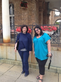 Maria and Rada, our indespensible Fulbright angels